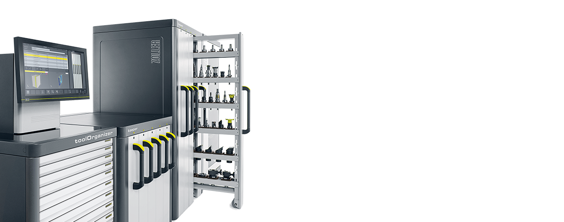 Smart Cabinets ZOLLER Presetting and Measuring Machines